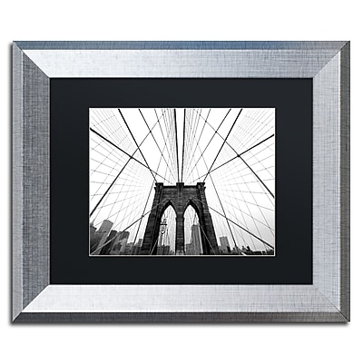 Trademark Fine Art ''NYC Brooklyn Bridge'' by Nina Papiorek 11