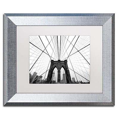 Trademark Fine Art ''NYC Brooklyn Bridge'' by Nina Papiorek 11