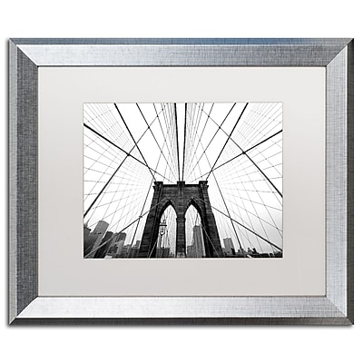 Trademark Fine Art ''NYC Brooklyn Bridge'' by Nina Papiorek 16
