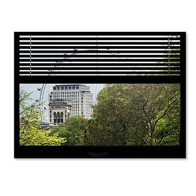 Trademark Fine Art ''Window View The London Eye 2'' by Philippe Hugonnard 24