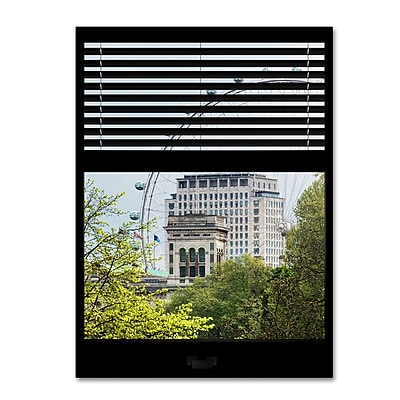 Trademark Fine Art ''Window View The London Eye 3'' by Philippe Hugonnard 24