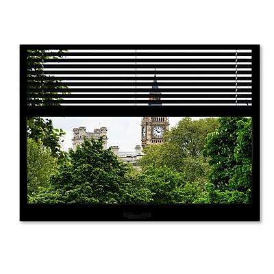 Trademark Fine Art ''Window View Big Ben 1'' by Philippe Hugonnard 24