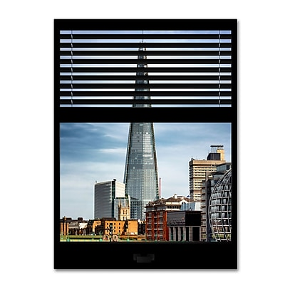 Trademark Fine Art ''Window View The Shard'' by Philippe Hugonnard 24