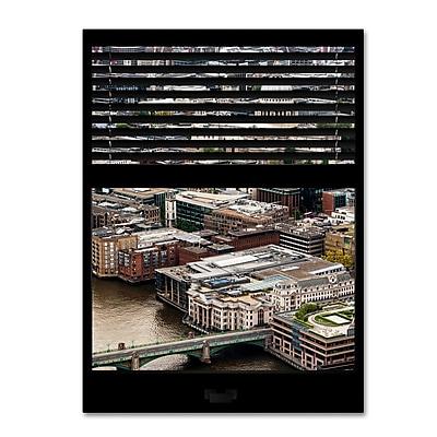 Trademark Fine Art ''Window View City of London 1'' by Philippe Hugonnard 24