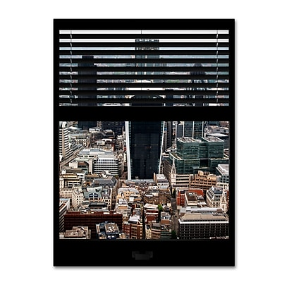 Trademark Fine Art ''Window View London 1'' by Philippe Hugonnard 24