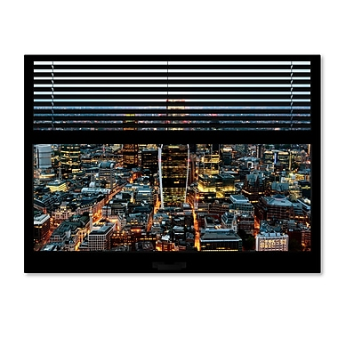 Trademark Fine Art ''Window View London City 1'' by Philippe Hugonnard 24