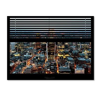 Trademark Fine Art ''Window View London City 1'' by Philippe Hugonnard 24