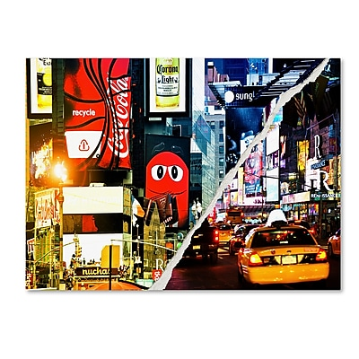 Trademark Fine Art ''Times Square Night'' by Philippe Hugonnard 24