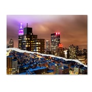 "Trademark Fine Art ''City That Never Sleeps'' by Philippe Hugonnard 24"" x 32"" Canvas Art (PH0078-C2432GG)"