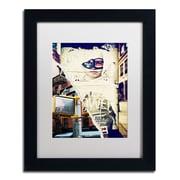 "Trademark Fine Art ''NY Street Scenes'' by Philippe Hugonnard 11"" x 14"" White Matted Black Frame (PH0079-B1114MF)"