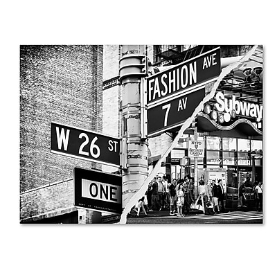 Trademark Fine Art ''Fashion Signs'' by Philippe Hugonnard 24