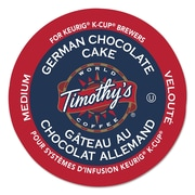 Timothy's World Coffee German Chocolate Cake Coffee K-Cup® Pods, 24/box