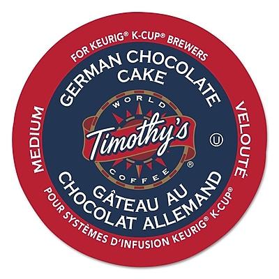 Keurig® K-Cup® Timothy's World Coffee® German Chocolate Cake Coffee, 24 Count
