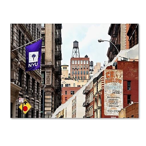 "Trademark Fine Art ''Midtown Manhattan'' by Philippe Hugonnard 14"" x 19"" Canvas Art (PH0083-C1419GG)"