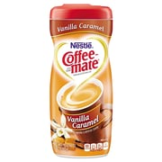 Coffee-Mate Non-Dairy Powdered Creamer, Vanilla Caramel, 15 Oz Canister