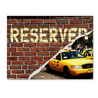 Trademark Fine Art ''Taxi Booked'' by Philippe Hugonnard 35