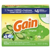 Gain Original Scent Powder Laundry Detergent, 16 Oz/box, 15/carton