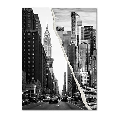 Trademark Fine Art ''Downtown City'' by Philippe Hugonnard 18