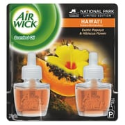 Air Wick Scented Oil Twin Refill, Hawaiian Tropical Sunset, .67oz Bottle, 6/carton