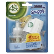 Air Wick Scented Oil Starter Kit, Snuggle Fresh Linen, 0.67 Oz