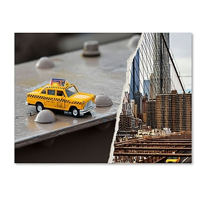 Trademark Fine Art ''NYC Taxi'' by Philippe Hugonnard 24