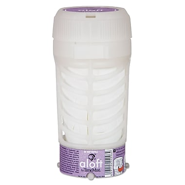 TimeMist O2 Dispenser Refills, Aerosol, 6 Oz, Lavender Scent, 6/carton