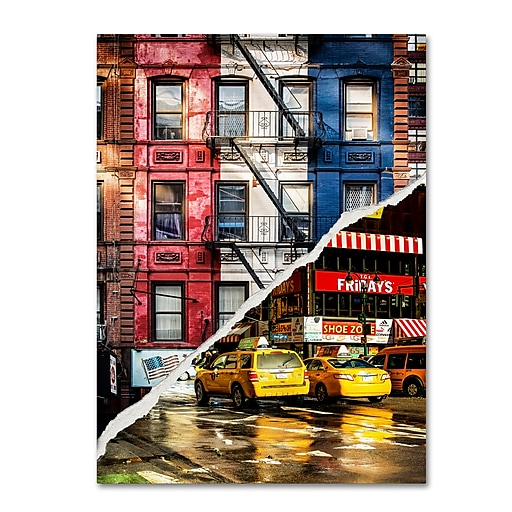 "Trademark Fine Art ''American Colors'' by Philippe Hugonnard 35"" x 47"" Canvas Art (PH0101-C3547GG)"