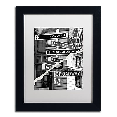 Trademark Fine Art ''The Louvre or Broadway'' by Philippe Hugonnard 11