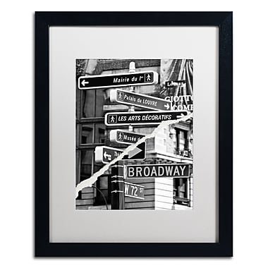 Trademark Fine Art ''The Louvre or Broadway'' by Philippe Hugonnard 16