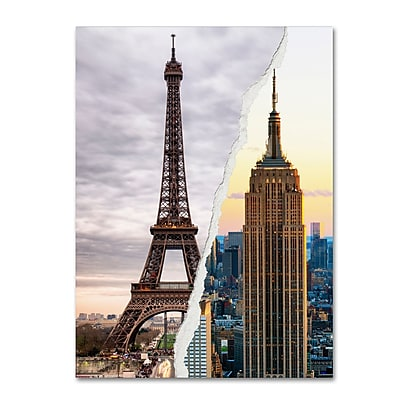Trademark Fine Art ''The Empire Eiffel'' by Philippe Hugonnard 24