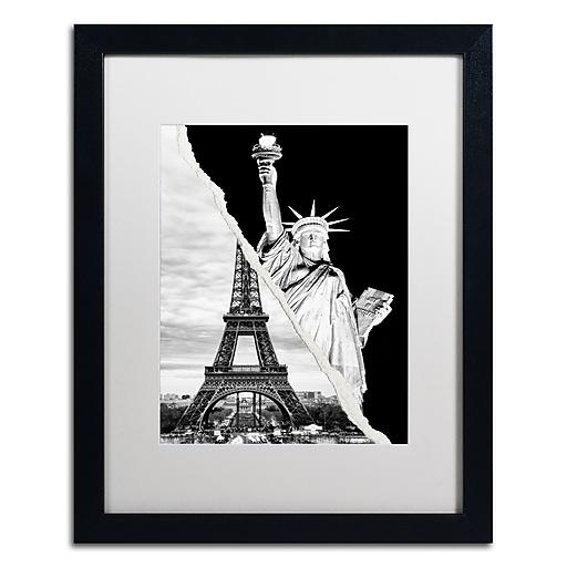 "Trademark Fine Art ''Architectural Grandeur'' by Philippe Hugonnard 16"" x 20"" White Matted Black Frame (PH0109-B1620MF)"