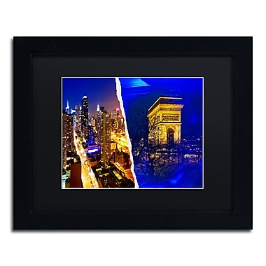 Trademark Fine Art ''Cities at Night'' by Philippe Hugonnard 11