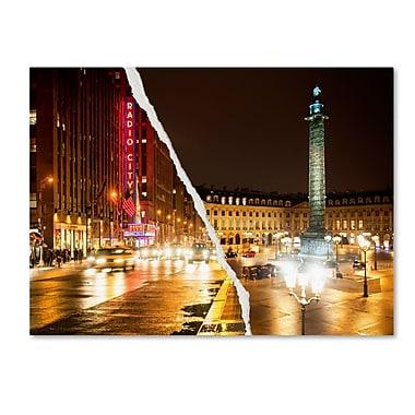 Trademark Fine Art ''Colors Overnight'' by Philippe Hugonnard 24