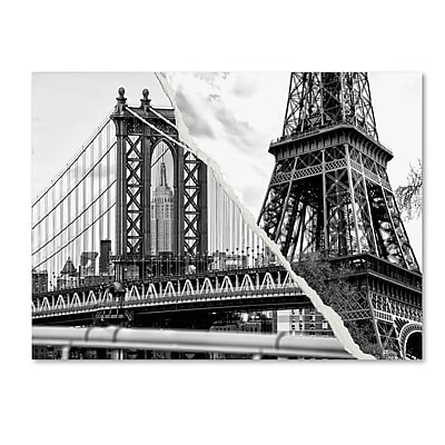 Trademark Fine Art ''The Tower and the Bridge'' by Philippe Hugonnard 24