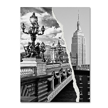 Trademark Fine Art ''Live in Paris and New York'' by Philippe Hugonnard 18