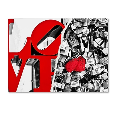 Trademark Fine Art ''Love'' by Philippe Hugonnard 35