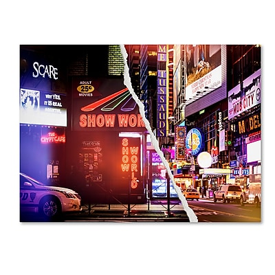 Trademark Fine Art ''Times Square Show'' by Philippe Hugonnard 18