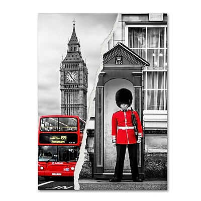 Trademark Fine Art ''Look at London'' by Philippe Hugonnard 35