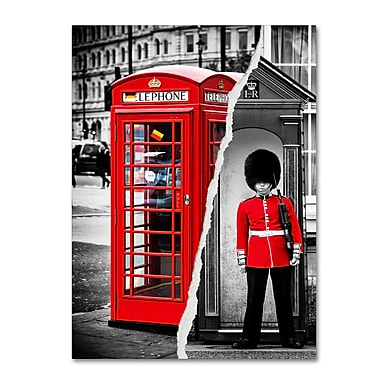 Trademark Fine Art ''Red'' by Philippe Hugonnard 35