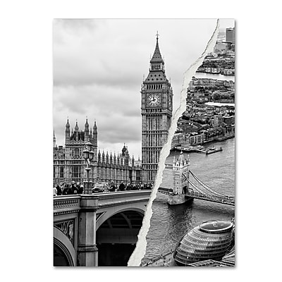 Trademark Fine Art ''City of London'' by Philippe Hugonnard 35