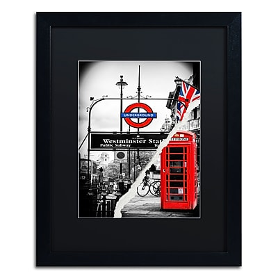 Trademark Fine Art ''Westminster Station'' by Philippe Hugonnard 16