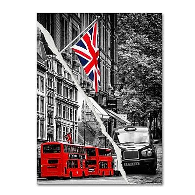 Trademark Fine Art ''London Bus'' by Philippe Hugonnard 18