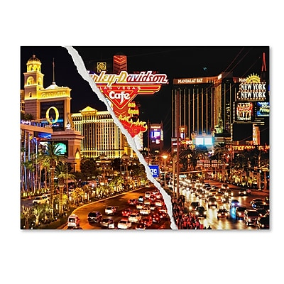 Trademark Fine Art ''The Strip'' by Philippe Hugonnard 35