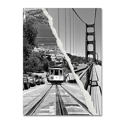 Trademark Fine Art ''San Francisco Cable Car'' by Philippe Hugonnard 35