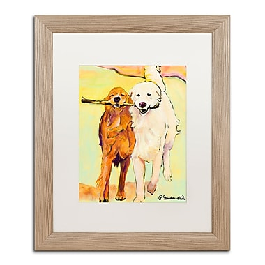 Trademark Fine Art ''Stick With Me 1'' by Pat Saunders 16