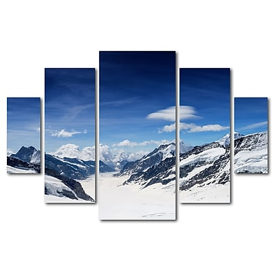 Trademark Fine Art ''Distances'' by Philippe Sainte-Laudy 3.3' x 4.8' Multi Panel Art Set (PSL0301-P5-SET)