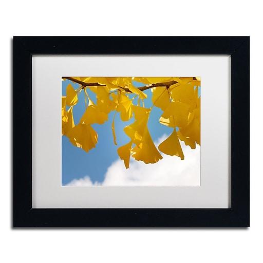 "Trademark Fine Art ''Sensitive Space'' by Philippe Sainte-Laudy 11"" x 14"" White Matted Black Frame (PSL0448-B1114MF)"