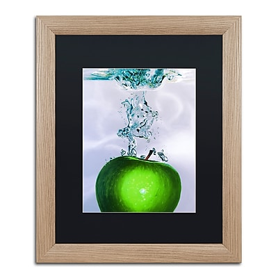 Trademark Fine Art ''Apple Splash II'' by Roderick Stevens 16
