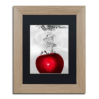 Trademark Fine Art ''Red Apple Splash'' by Roderick Stevens 11