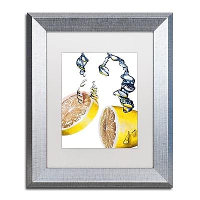 Trademark Fine Art ''Lemon Splash II'' by Roderick Stevens 11